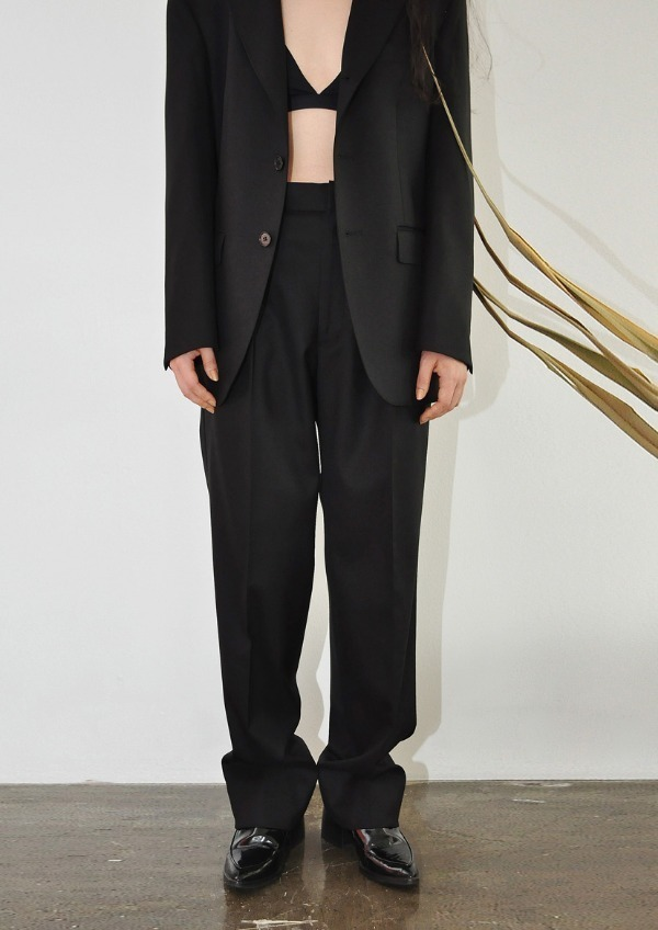 [PRV] signature suit PT / solid black