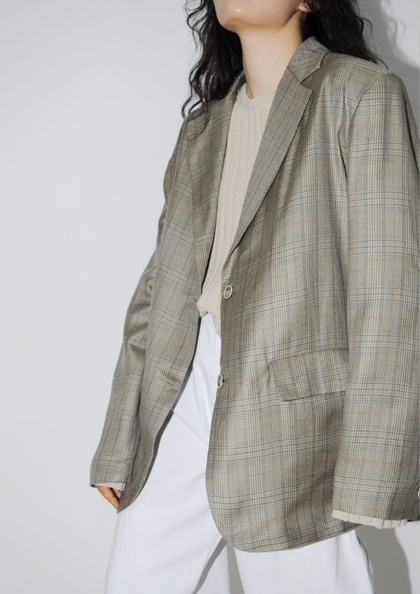 old check jacket(2color)