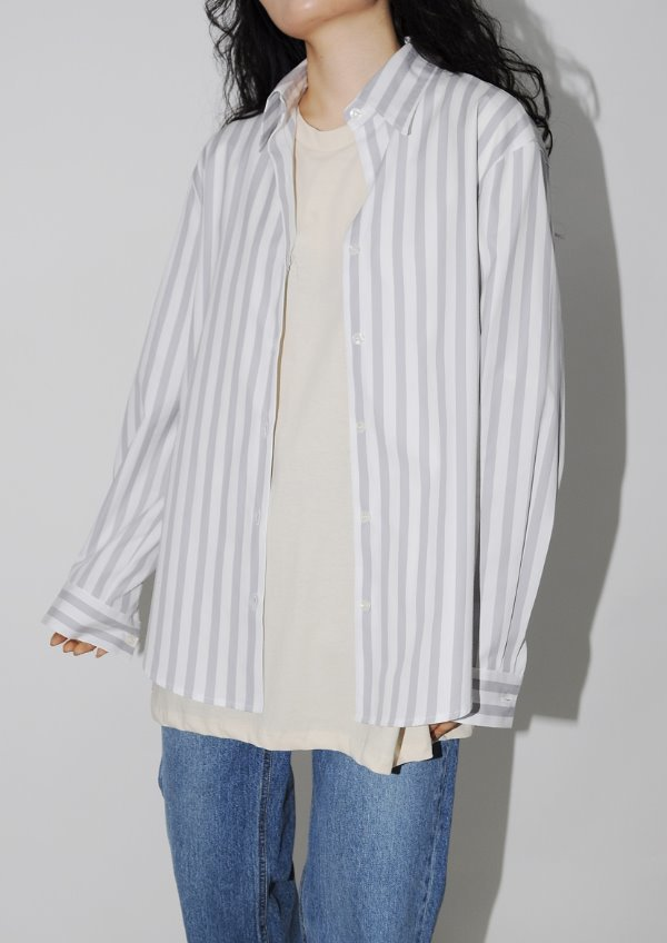 one stripe shirt(2color)