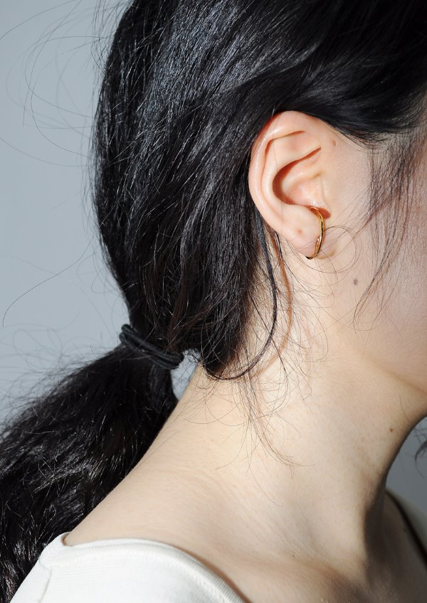 grab earring(2color)