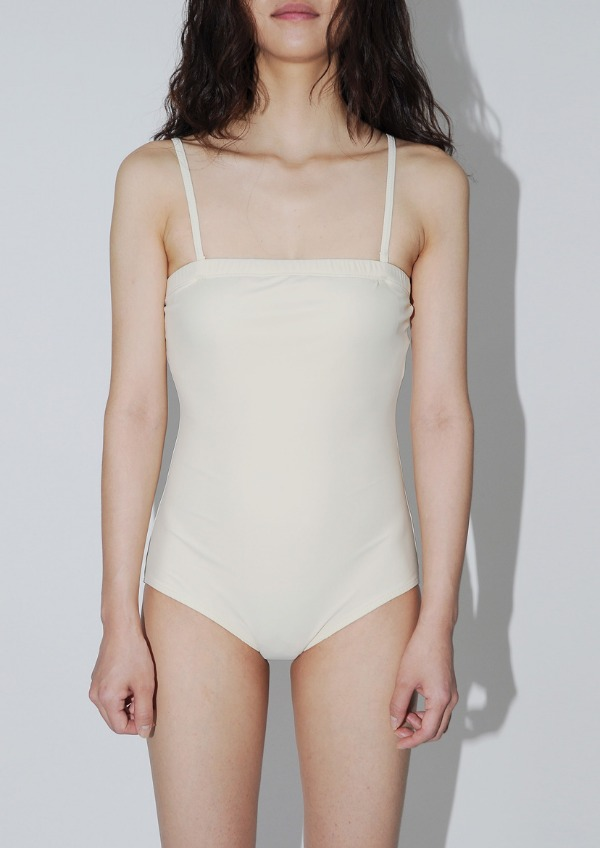 003BEIGE SWIM SUIT