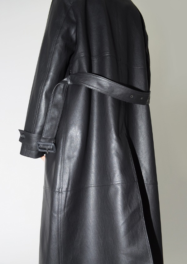 leather coat(2color)