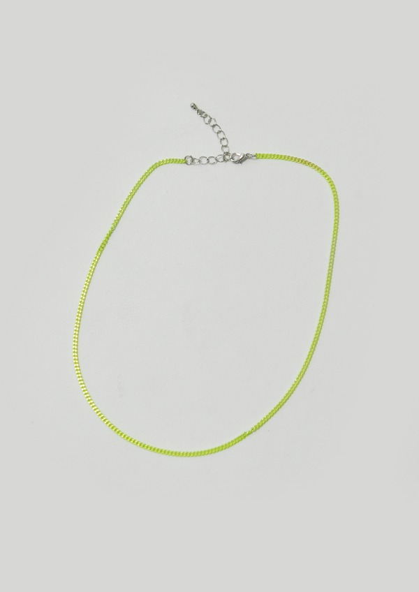 simple color necklace(2color)
