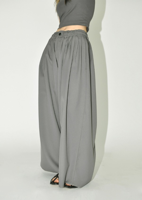 flare banding pants(2color)