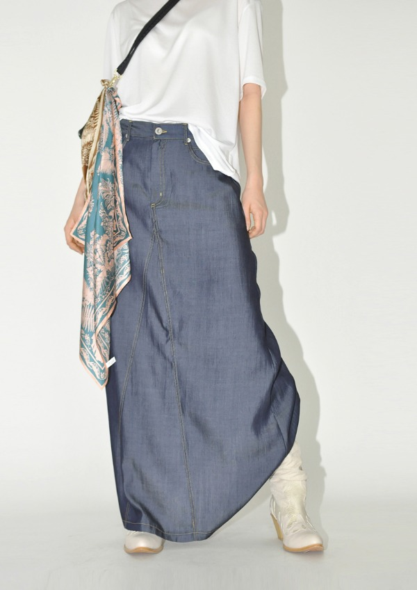 tencel stitch skirt