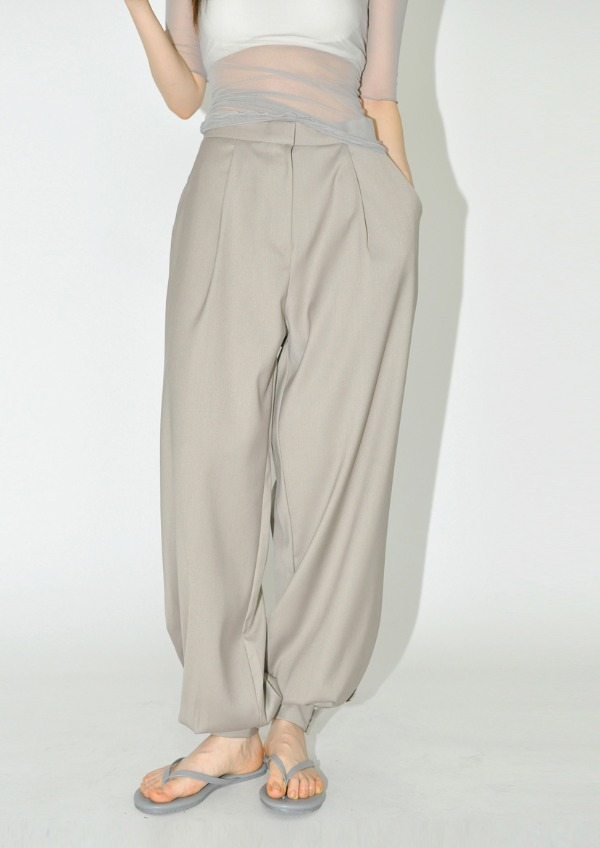 snap jogger pants(2color)