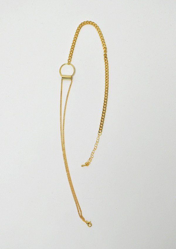 unbalance necklace(2color)