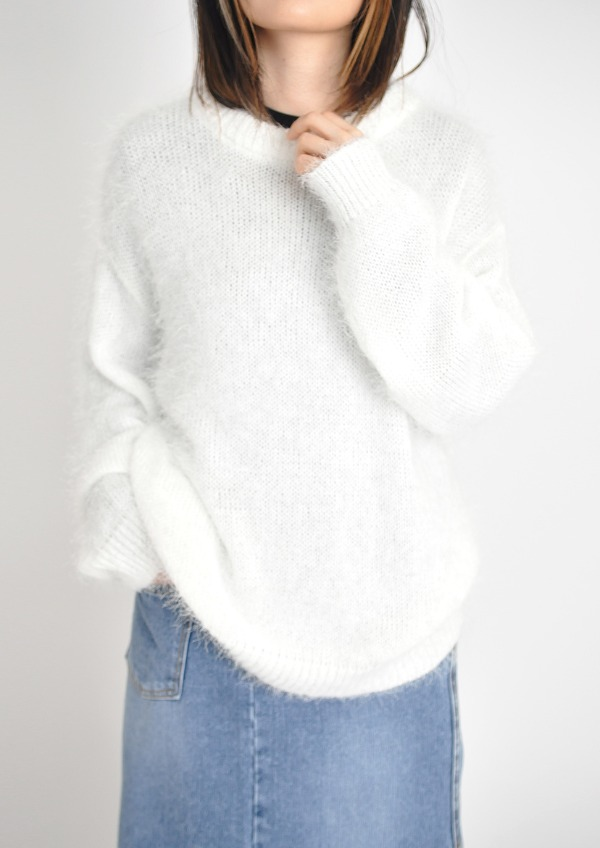 shaggy knit(3color)