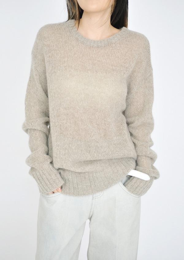 Alpaca loose knit(4color)
