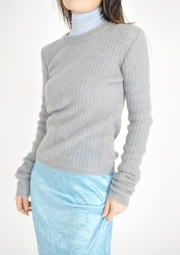 simple mohair knit(5color)