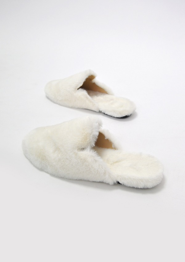 fur slipper(4color)