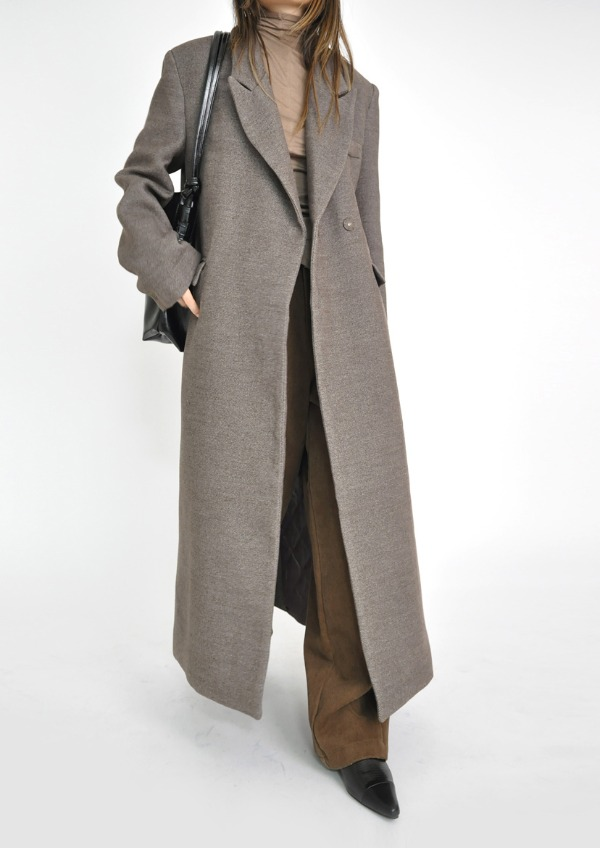 twill double coat(2color)