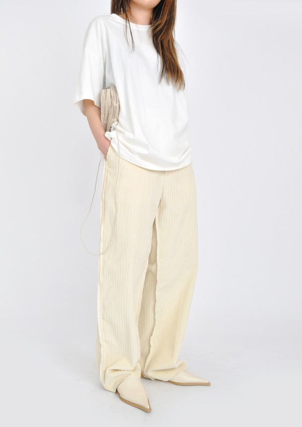 detail corduroy pants(2color)