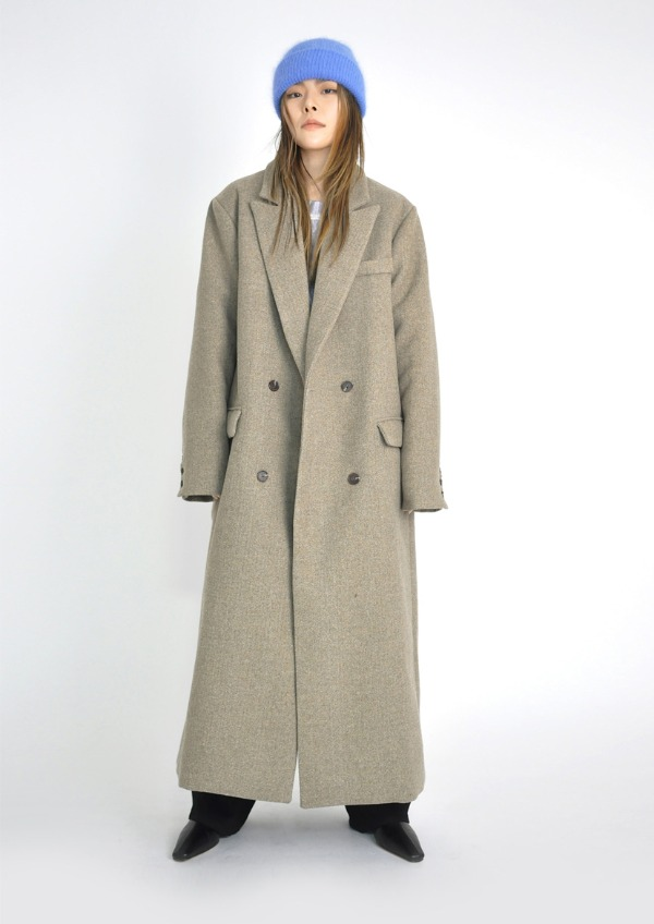 maxi long coat(3color)