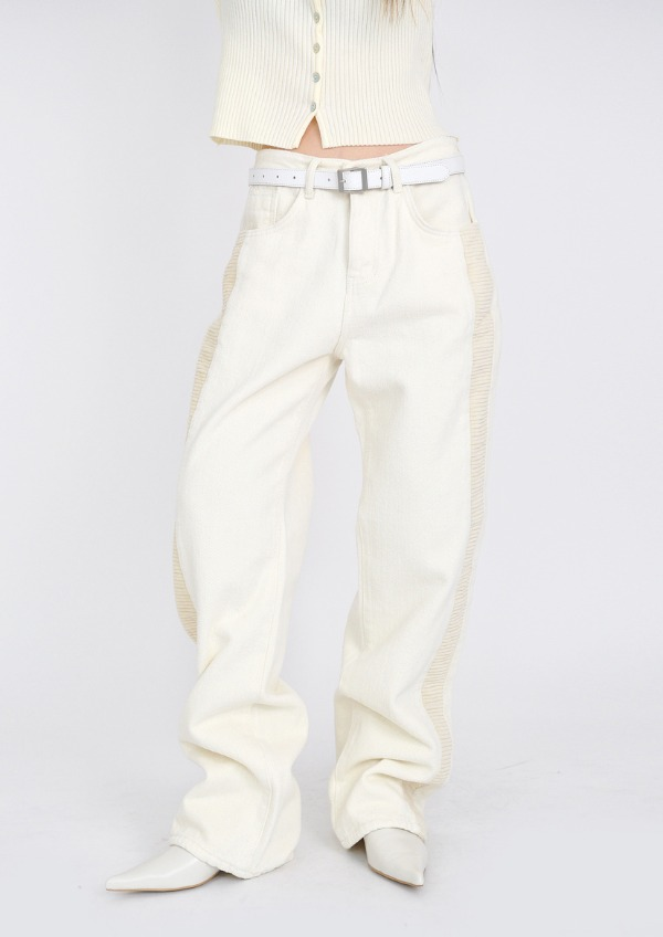 corduroy cotton pants(2color)