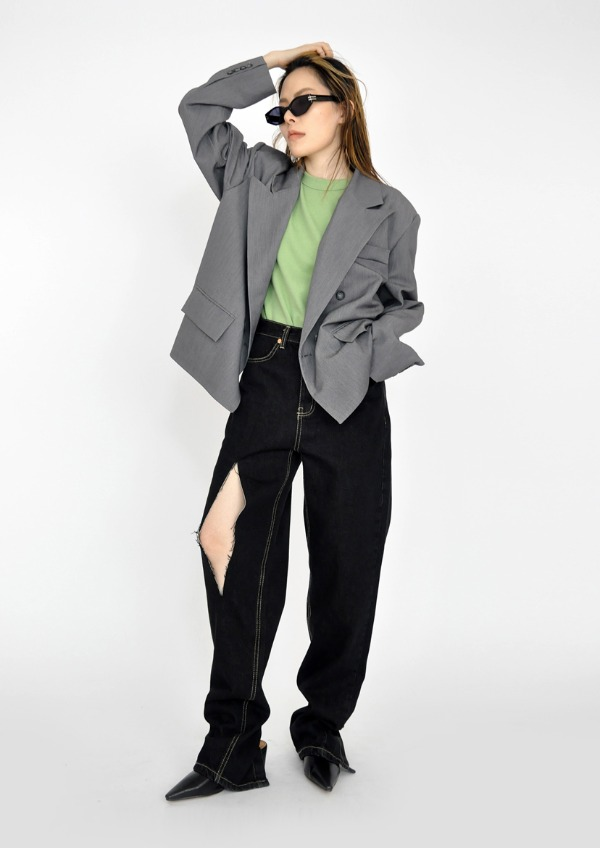 cutting short jacket(3color)