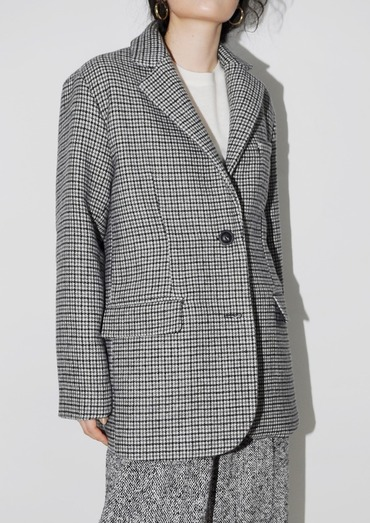 hound tooth check jacket(2color)