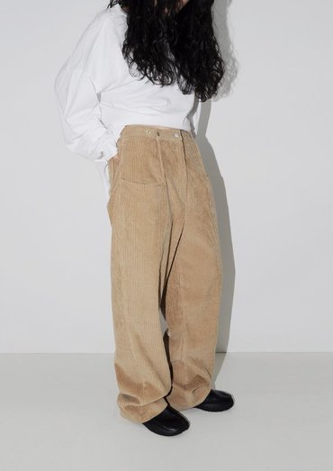 snap corduroy pants(3color)