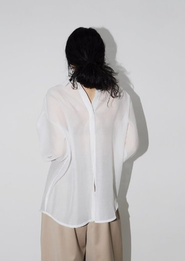 see through blouse(2color)