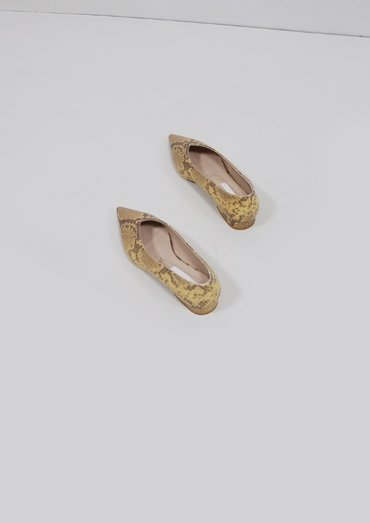 python flat shoes(2color)