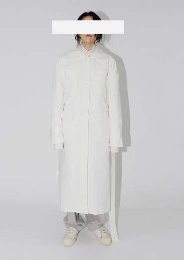 by pocket trench coat(2color)