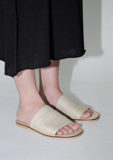 straw band shoes