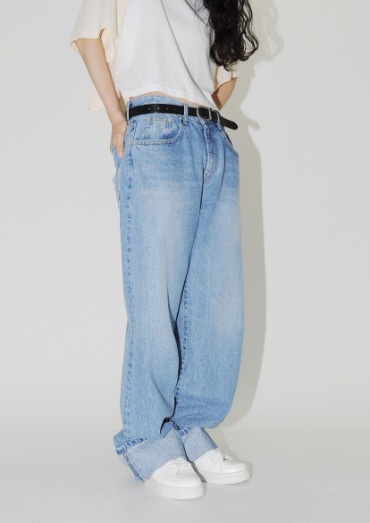 (Unisex)boy long denim(2color)