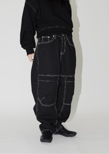 (Unisex) balloon boy pants(2color)
