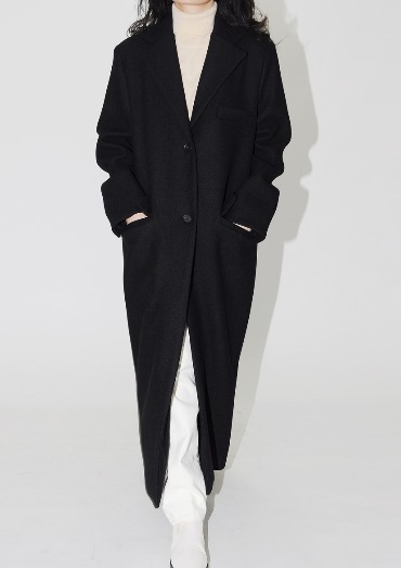 single wool coat