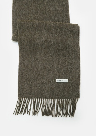 wool basic muffler(4color)