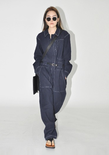 auto jumpsuit(3color)