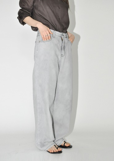 shadow denim pants(2color)