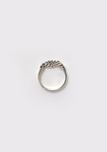 (silver925)chain bold ring