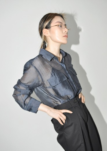 maison tencel shirt(3color)