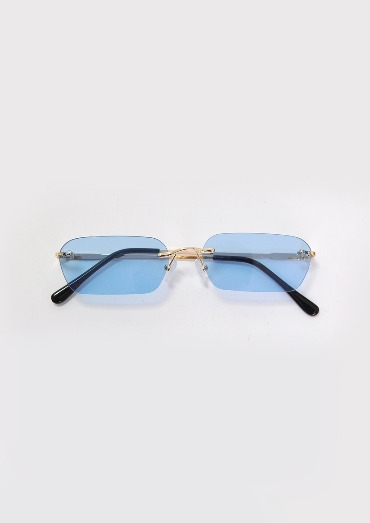 rimless glasses(2color)