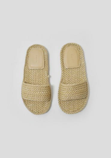 rope slipper(2color)