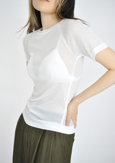 raglan tencel T(3color)
