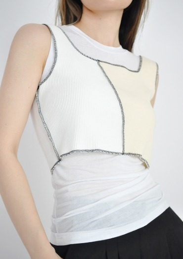 unusual TOP(2color)