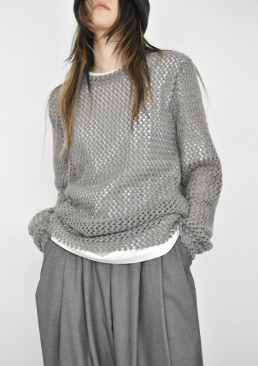 cozy net knit(3color)