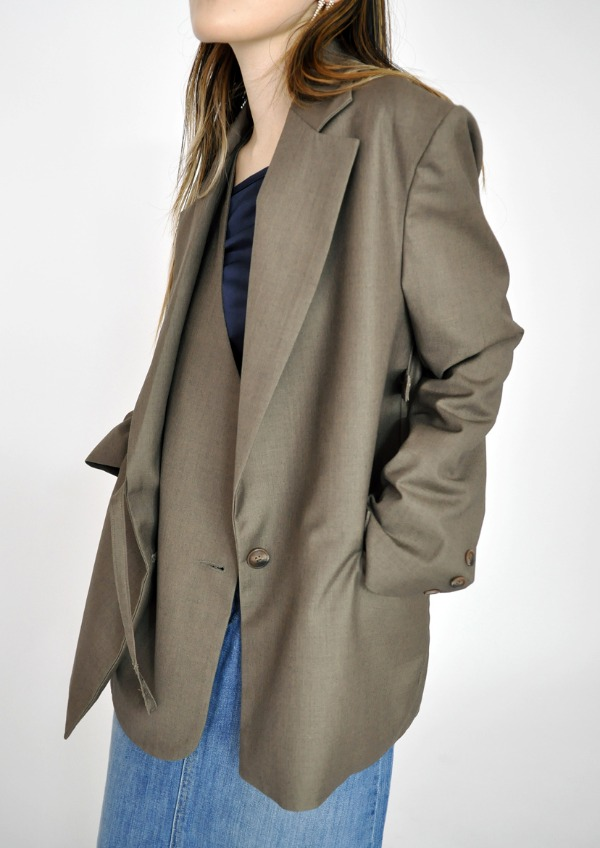 double wrap jacket(2color)